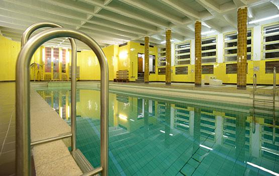 Der Pool im Christlichen Gästehaus Tanne Elbingerode